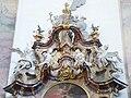 Ottobeuren Basilika Ottobeuren altar of st scholastica 03.JPG