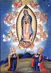 Our Lady of Guadalupe with St. Ann and Joachim