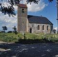 Overzicht van de zuidgevel met kerktoren - Jouswier - 20381735 - RCE.jpg