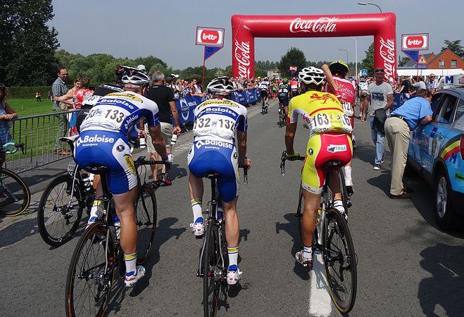 Péronnes-lez-Antoing (Antoing) - Tour de Wallonie, étape 2, 27 juillet 2014, départ (D08).JPG