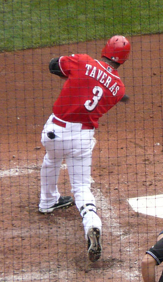 Willy Taveras - Taveras with the Cincinnati Reds