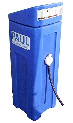 "Portable Aqua Unit for Lifesaving - Water backpack ""PAUL"""