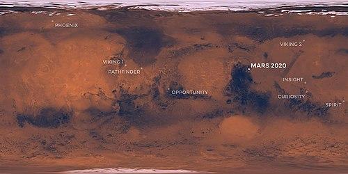 Jezero (crater) - Wikipedia