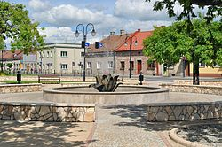 Market Square in Żabno