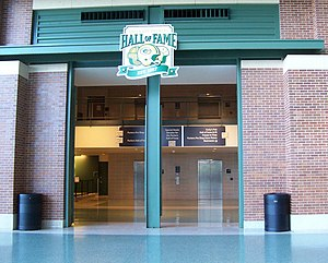 Green Bay Packers Hall of Fame - The entrance to the Hall of Fame