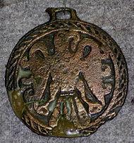 A Byzantine pendant
