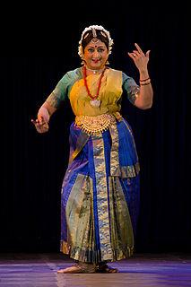 Padma Subrahmanyam Indian classical Bharata Natyam dancer