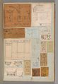 Page from a Scrapbook containing Drawings and Several Prints of Architecture, Interiors, Furniture and Other Objects MET DP372068.jpg