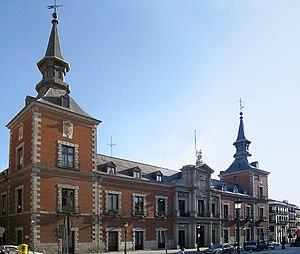 Herrerian - Façade of Palacio de Santa Cruz (Madrid).