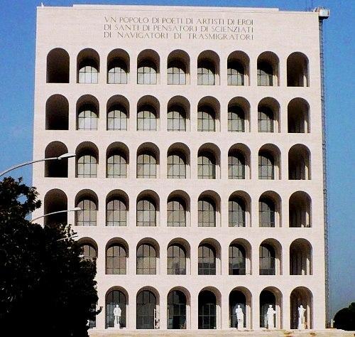 Palazzo della Civiltà Italiana, EUR, Roma, Italy