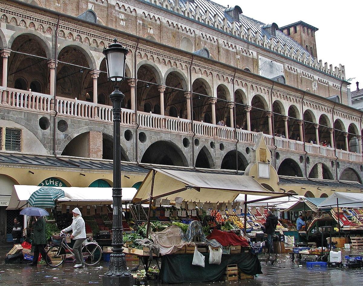 Piazza delle erbe padova wikipedia for Mercato antiquariato padova
