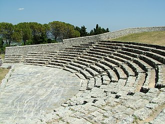 Akrai - The Greek theatre
