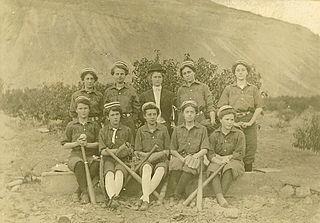 Womens baseball Lacrosse when played by girls/women