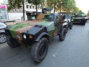 Panhard VBL (Vèhicule Blindé Legér), French army licence registration '6924 0055' pic2.JPG