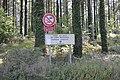Panneau d'entre de la forêt communale - Lann Bourgeol (Inguiniel).jpg