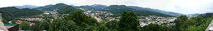 Kapfenberg - View of Kapfenberg from Schlossberg.