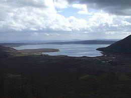 Un vista panoramica del Lago di Vico