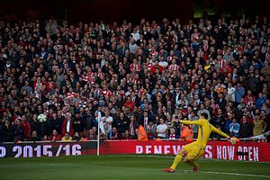 Costel Pantilimon - Pantilimon taking a goal-kick for Sunderland