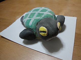 Paper clay