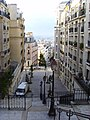 Paris 75018 Rue du Mont-Cenis no 027 stairs towards Rue Saint-Vincent a.jpg