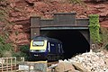 Parsons Tunnel - fGWR 43053 at rear of London train.JPG