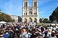 Parvis Notre-Dame fermé par la police à Paris le 14 août 2016 - 04.jpg