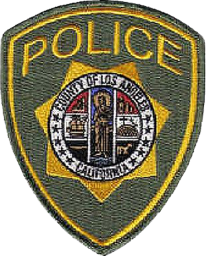 Los Angeles County Office of Public Safety - Image: Patch of the Los Angeles County Police