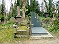 Patrick Caulfield grave in Highgate East Cemetery in London 2016 07.jpg