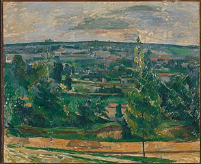Paysage près de Melun (Landscape near Melun)