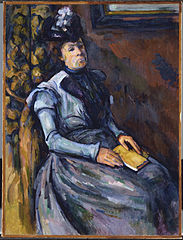 Seated Woman in Blue