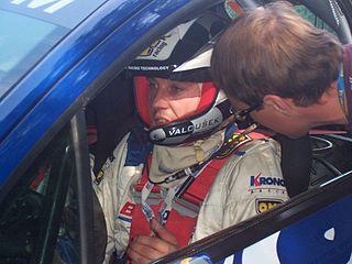 Pavel Valoušek Czech rally driver