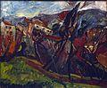 Paysage de Céret, Chaïm Soutine (1919) - Musée d'art et d'histoire du Judaïsme.jpg