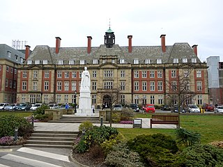 Royal Victoria Infirmary Hospital in Newcastle, England