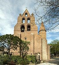 Pechbonnieu- Eglise - Clocher-mur.jpg