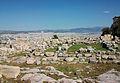 Pedres de l'Acròpoli i Atenes al fons.JPG