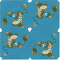 Peirce quincuncial projection SW tiles.JPG