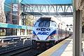Penn Line MARC train at Halethorpe MARC Station, Nov. 30, 2014..JPG