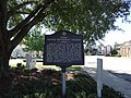 Perry United Methodist Church historical marker.JPG