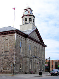 Perth  Ontario   Wikipedia Perth Town Hall  built in