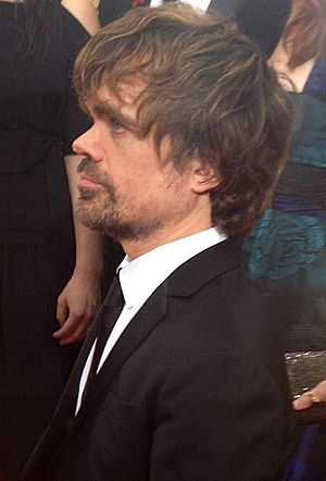 Peter Dinklage - Dinklage attending the 69th Annual Golden Globes Awards in 2012