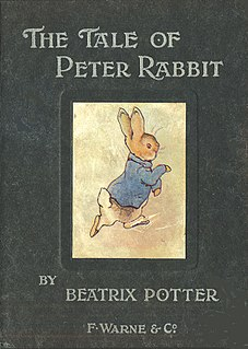 <i>The Tale of Peter Rabbit</i> 1901 book by Beatrix Potter