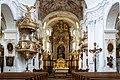 Pfarrkirchen Pfarrkirche Mittelschiff.jpg