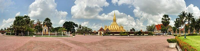 File:Pha That Luang Vientiane Laos Wikimedia Commons.jpg