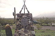 Battle of Picacho Monument. Picacho-Battle of Picacho Monument.jpg