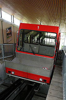 Zugerberg Funicular funicular railway in the city of Zug, Canton of Zug, Switzerland