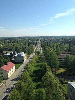 Town in Southern Savonia, Finland