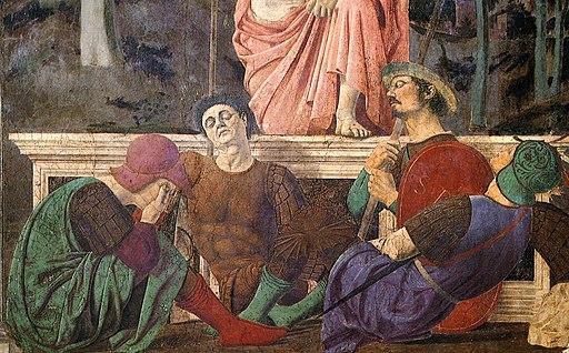 Piero della Francesca - Resurrection (detail)