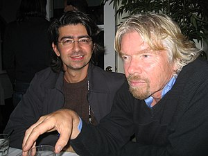 Pierre Omidyar - Omidyar with Richard Branson