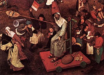 Pieter Bruegel the Elder - The Fight between Carnival and Lent (detail) - WGA3375.jpg