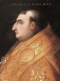 Paul II, cardinal-nephew of Eugene IV, who was cardinal-nephew of Gregory XII.